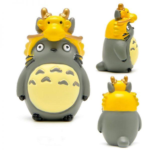 Totoro Hat Cute Figurines Toys 12pcs/lot
