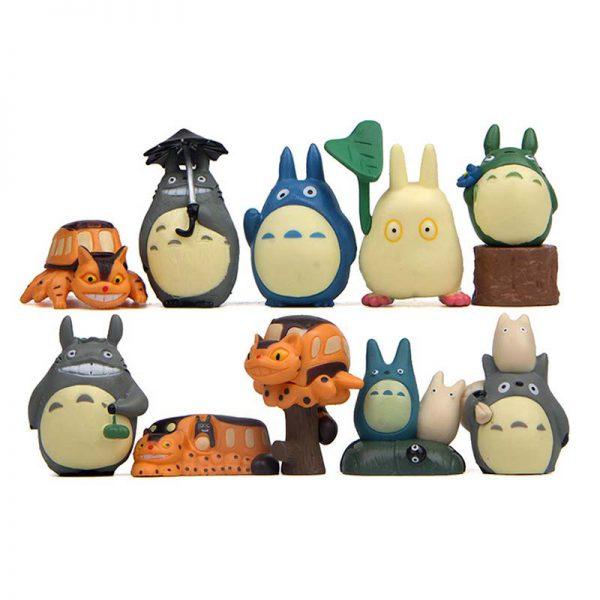 Miyazaki Hayao Anime My Neighbor Totoro Figure 10pcs/lot