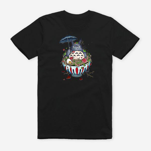 Totoro Cute Black T-shirt Summer 2020