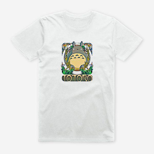 Totoro Cotton T-shirt So Cute