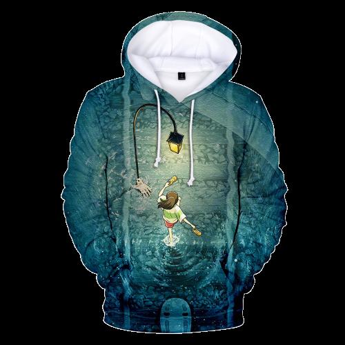 Chihiro Spirited Away Anime Hoodie