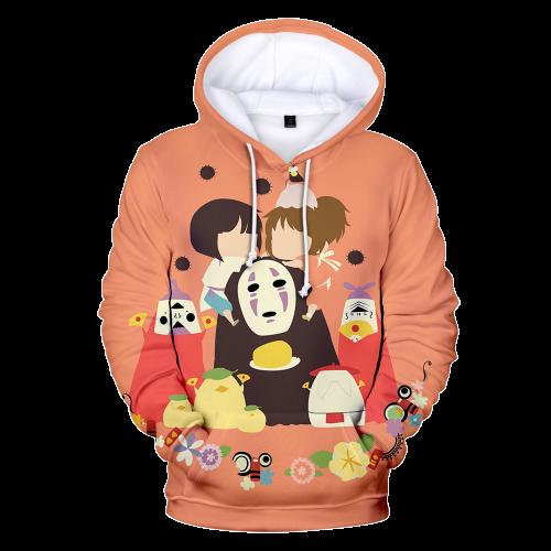 Spirited Away Character Anime Hoodie