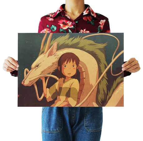 Japanese Movie Spirited Away Poster