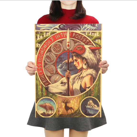 Best 2021 Princess Mononoke Poster