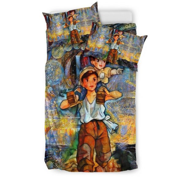 Eternal Grave of the Fireflies Bedding Set