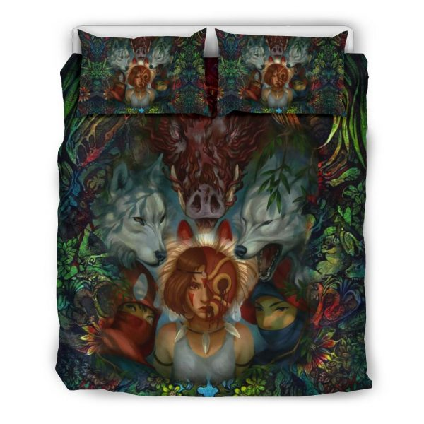 Fearless Princess Mononoke Bedding Set