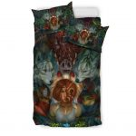 bedding-set-black-fearless-princess-mononoke