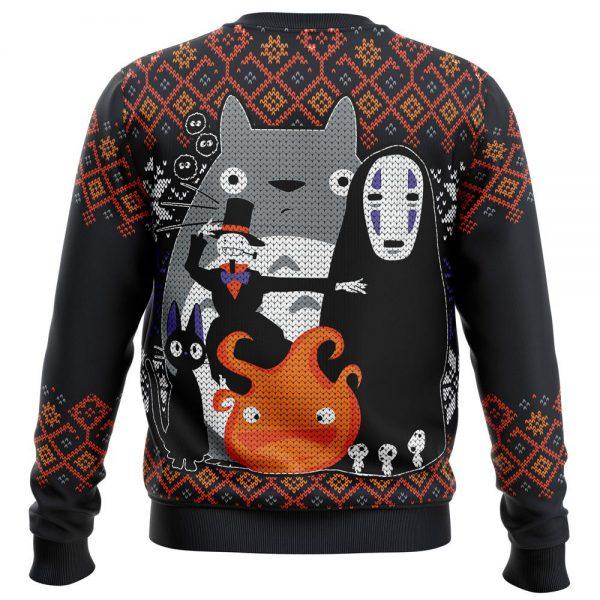 Ghibli Miyazaki Premium Ugly Christmas Sweater