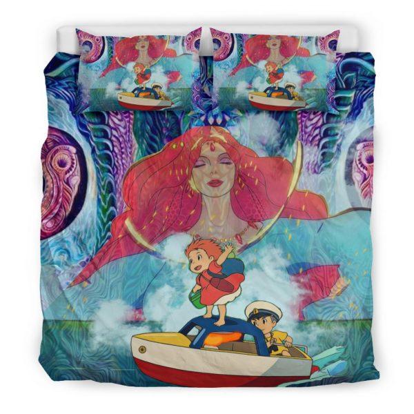 Magical Ponyo Bedding Set