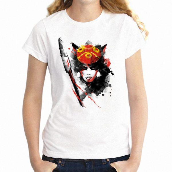 Princess Mononoke Sunrise T-shirt Raglan