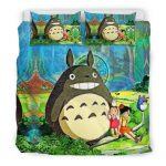 Bedding Set - Black - my neighbor totoro