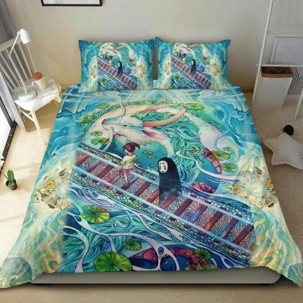 Mythical spirited away Bedding Set