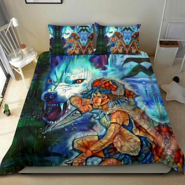 Raging Princess Mononoke Bedding Set