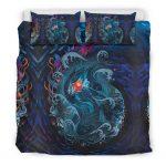 Bedding Set - Black - Sea Creatures Ponyo