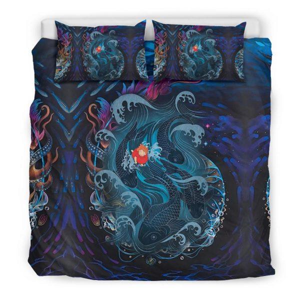 Sea Creatures Ponyo Bedding Set