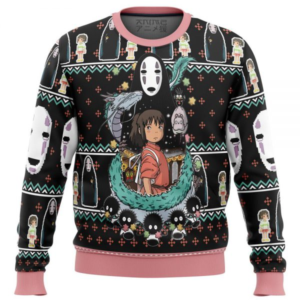 Spirited Away Cute Ugly Christmas Sweater