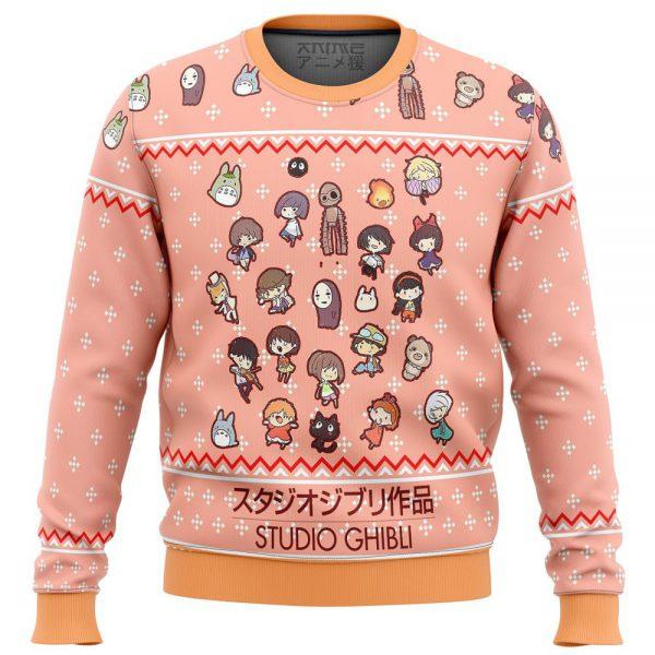 Studio Ghibli Cuties Premium Ugly Christmas Sweater