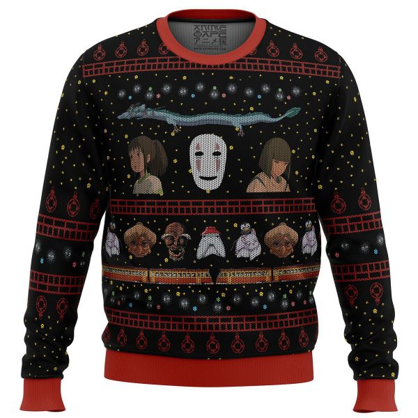 Spirited Away Premium Ugly Christmas Sweater 2020