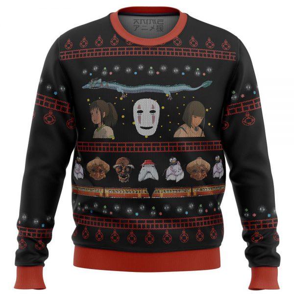 Studio Ghibli Spirited Premium Ugly Christmas Sweater