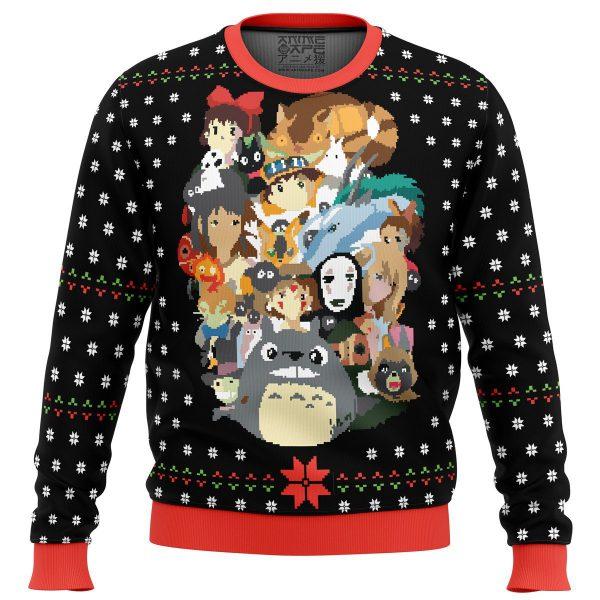Studio Ghibli Xmas Premium Ugly Christmas Sweater