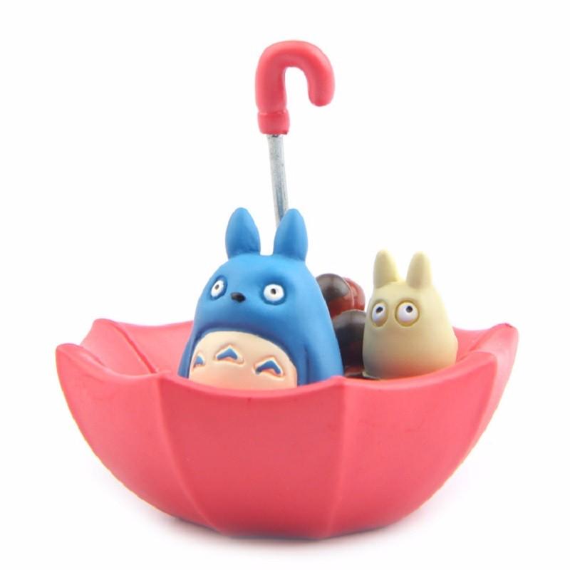 Cute Blue Totoro Umbrella