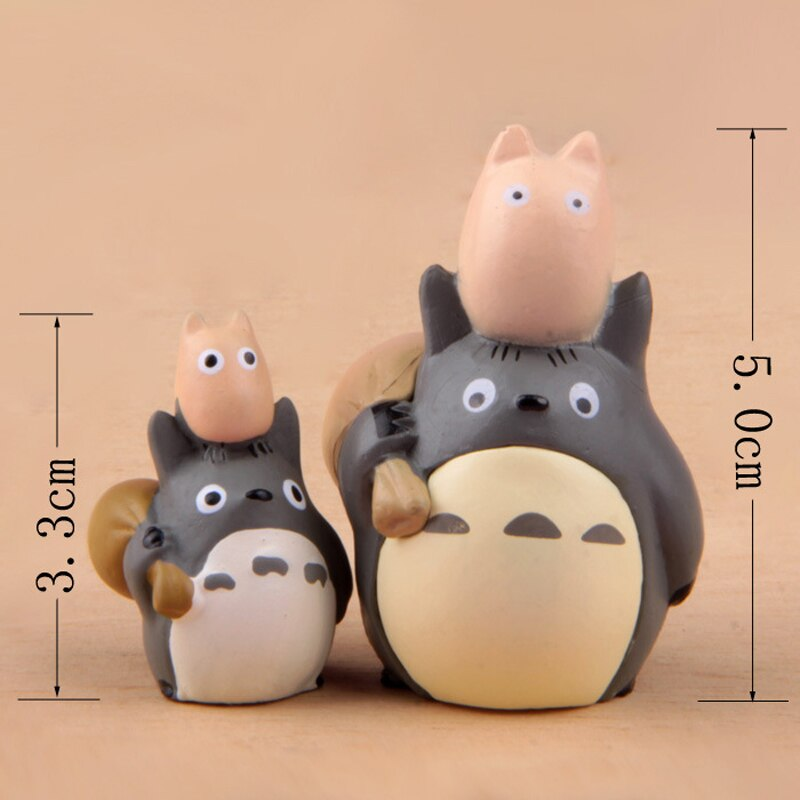 2pcs/lot My Neighbor Totoro With Bag
