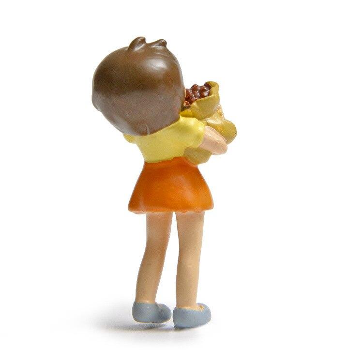 5pcs/lot DIY Fruit Totoro Figures