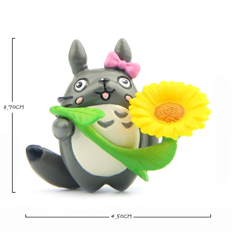 Totoro Toys PVC Sunflower
