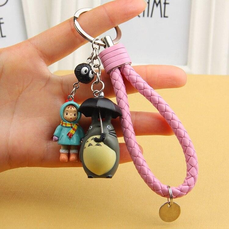 Cute My Neighbor Totoro And Mei Doll Keychain