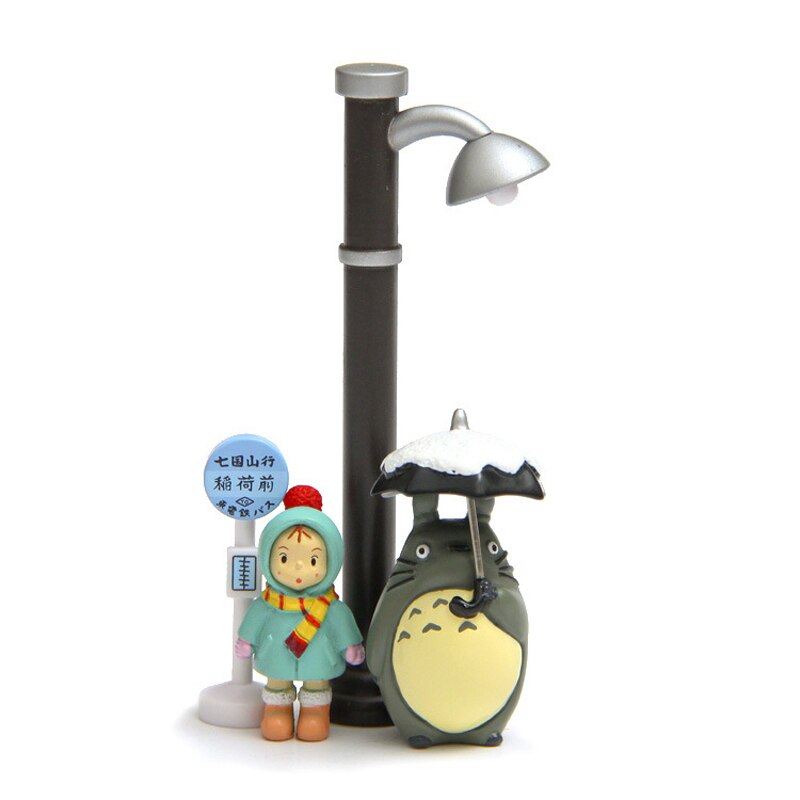 Umbrella Totoro Mei Street Lamp Bus Station Full Set
