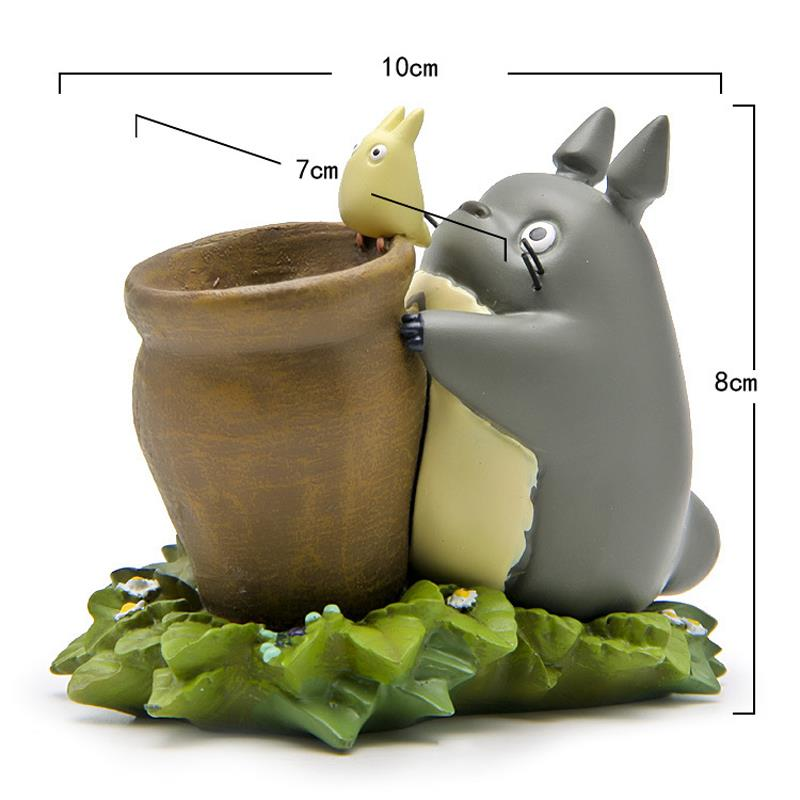 DIY Studio Ghibli Totoro With Honey Pot