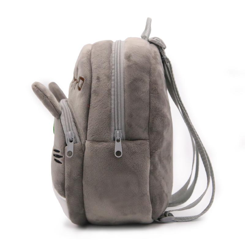 Baby Kindergarten Cute Totoro Plush Backpacks