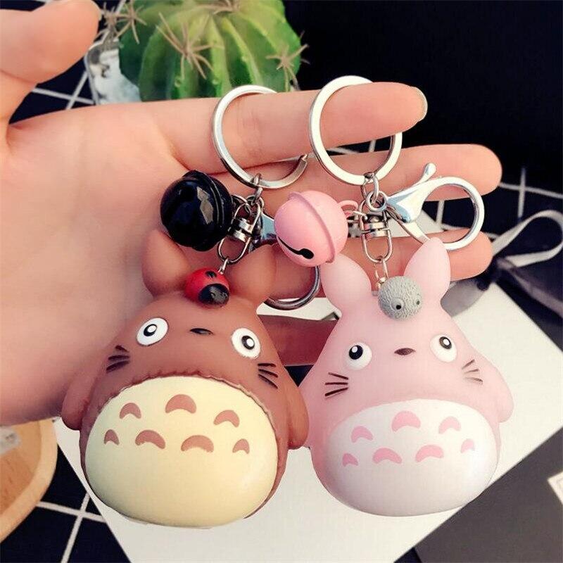 Hot Cute Couple Totoro Key Chains