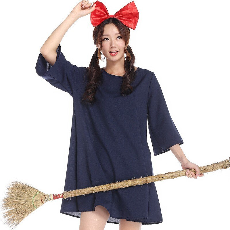 New Kiki's Delivery Service Cosplay Dress 2021