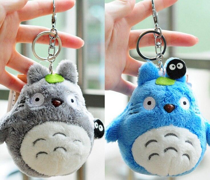 Mini Plush Totoro Keychain
