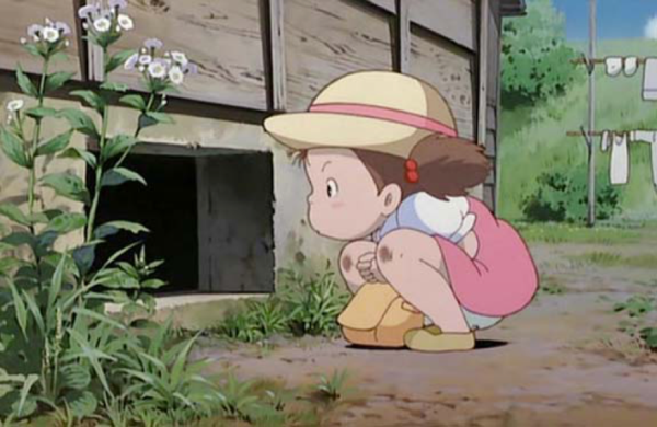 Mei Kusakabe : My neighbor Totoro