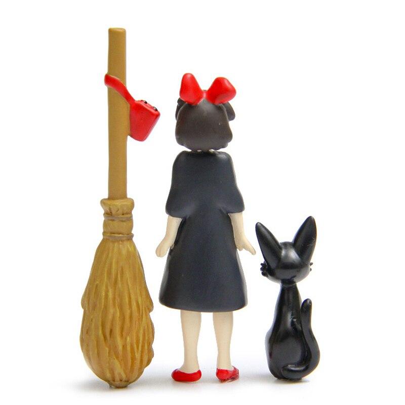 Figures Toy Kiki & JiJi Cat Magic Broom