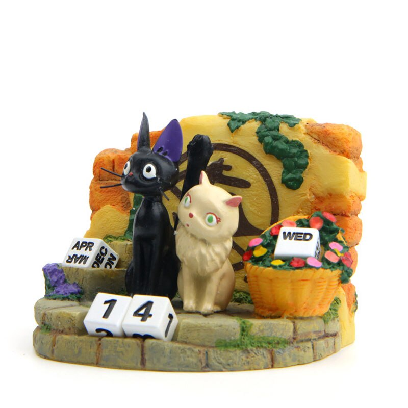 Kiki's Delivery Service Couple JiJi Cat PVC