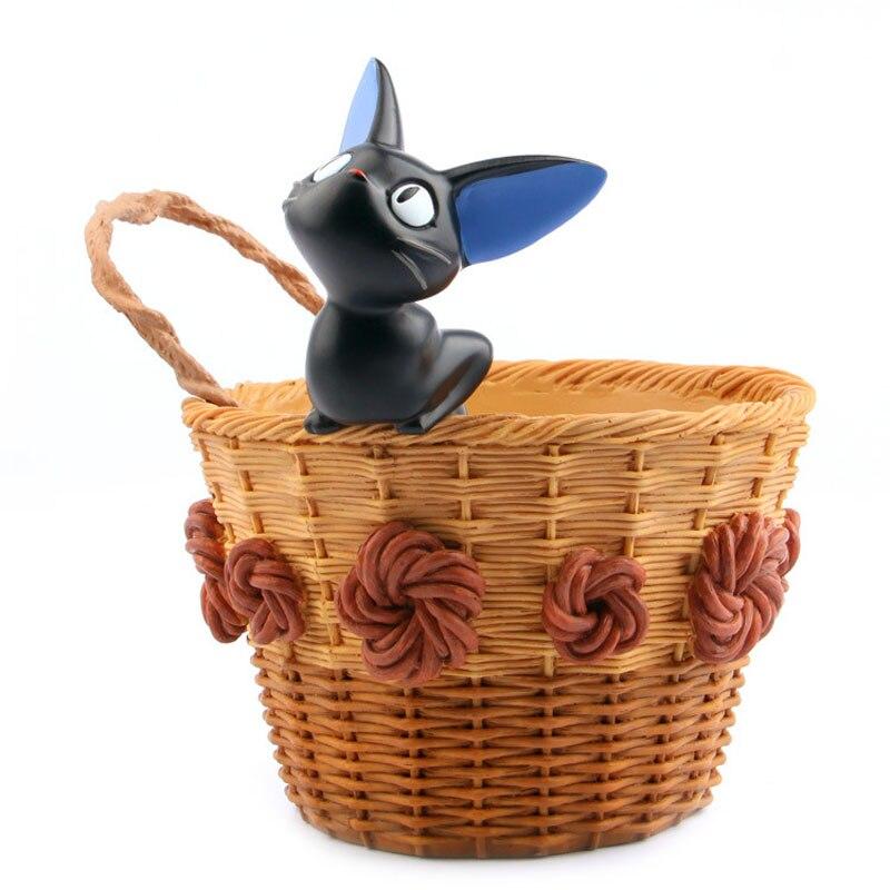 Studio Ghibli Jiji Cat Basket Toys