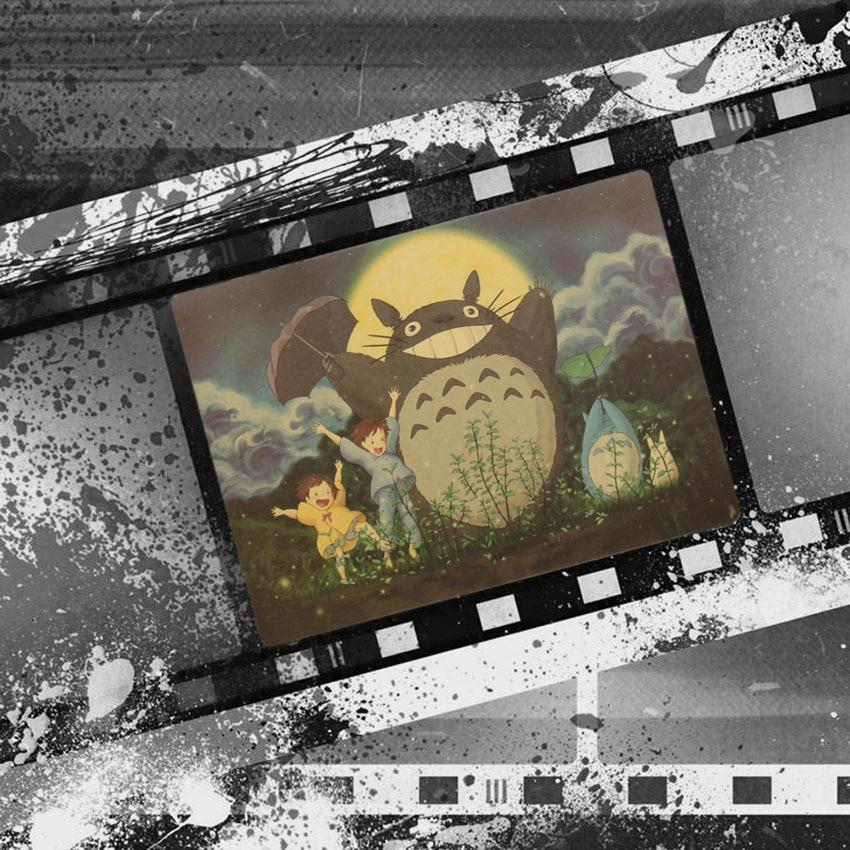 Vintage Cartoon Anime Totoro Poster