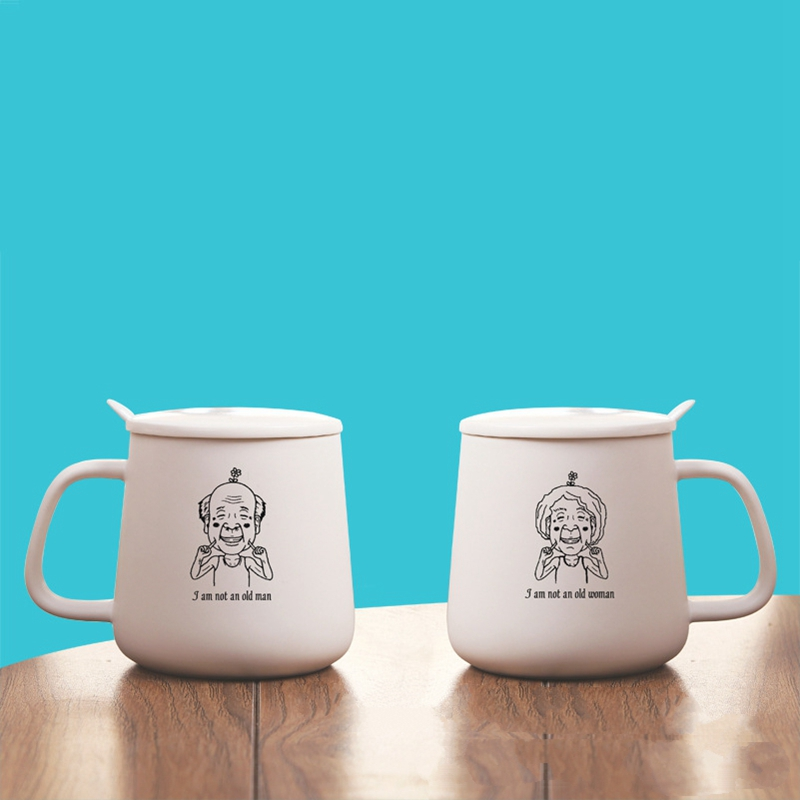 Totoro Lovers Couple Mugs