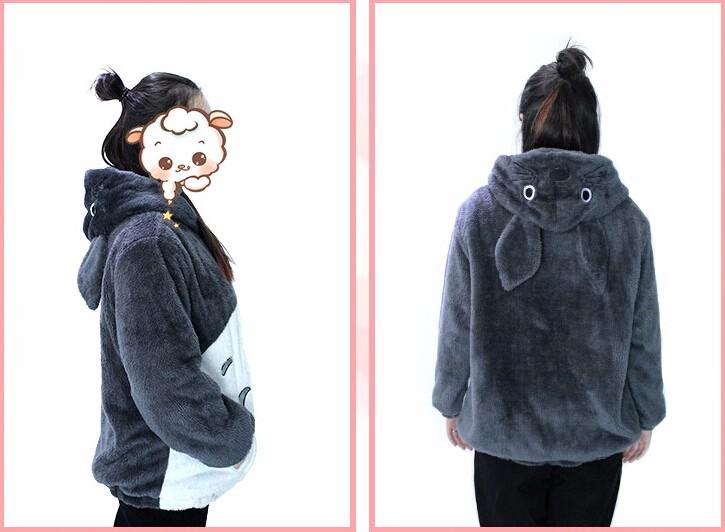 My Neighbor Totoro Hoodie Coat Cosplay