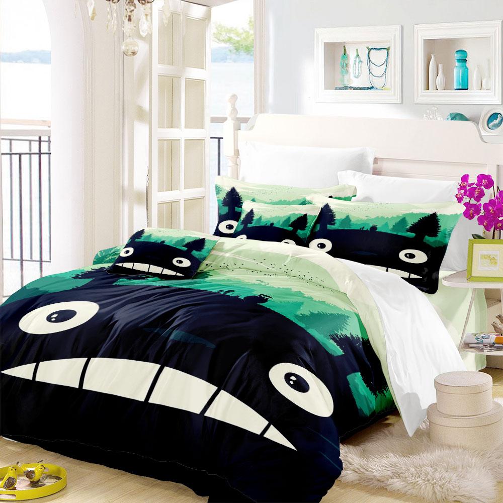 New Totoro Bedding Set Classic 2021