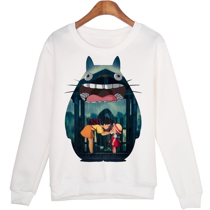 Totoro Style 3D Cartoon Sweatshirts