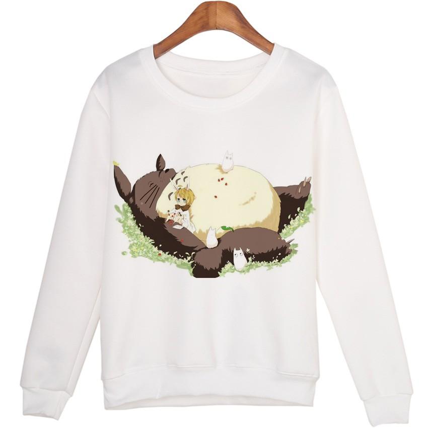 Sleeping Totoro Sweatshirts