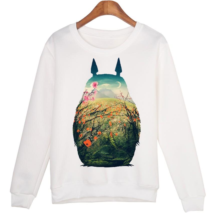 New Cute Totoro Spring Sweatshirts