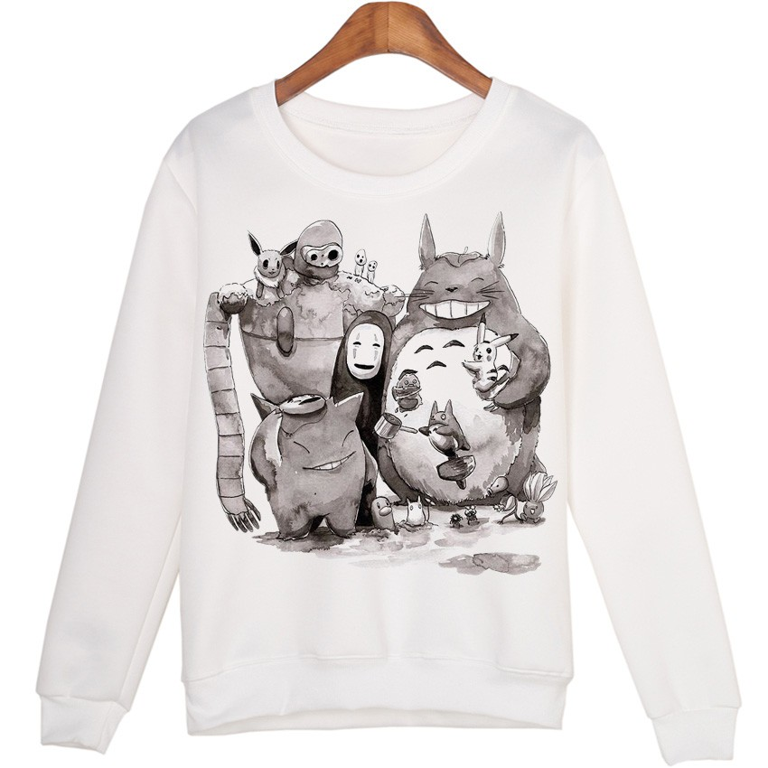 Totoro Family Women Sweatshirts
