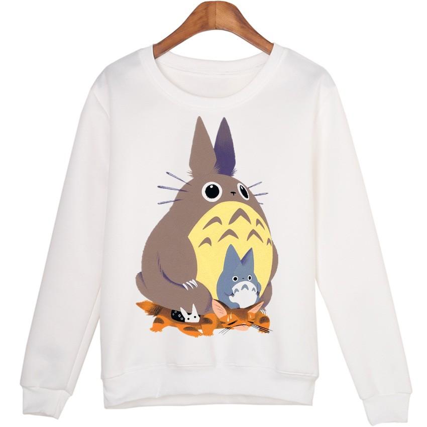 Cute Totoros Casual Women Sweatshirts