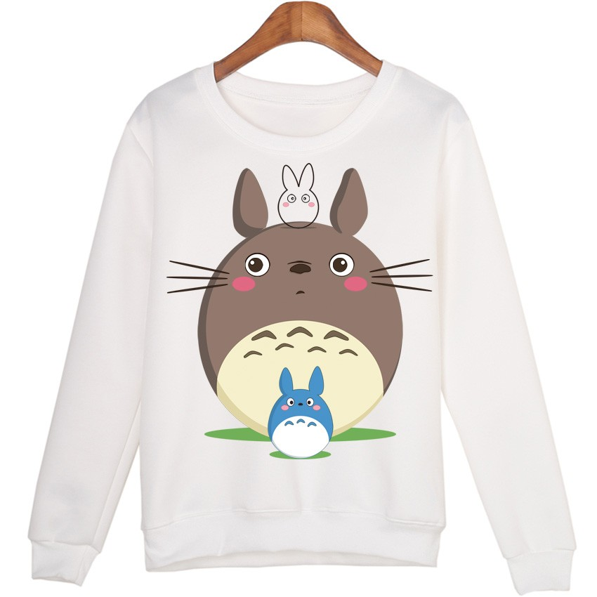 Totoro + Totoro Blue Sweatshirts