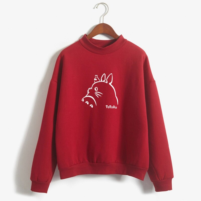 Lovely Totoro Printed Winter Sweatshirt 2021